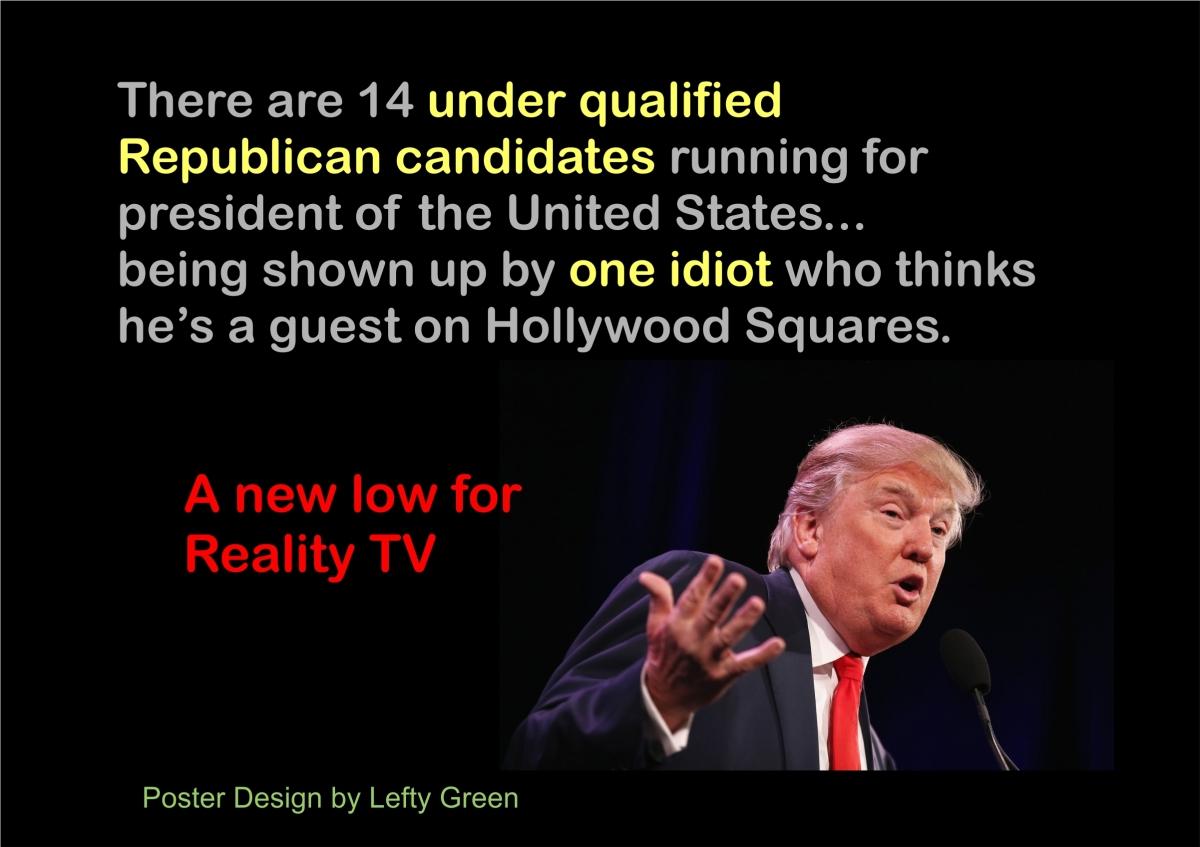 Donald Trump the Huckster