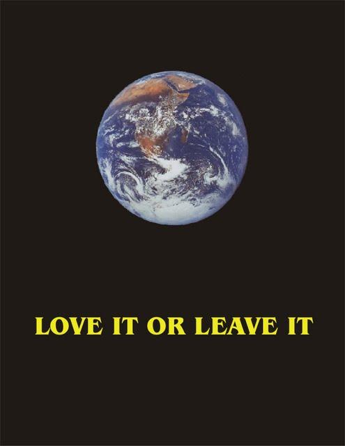 Earth-Love It or Leave It
