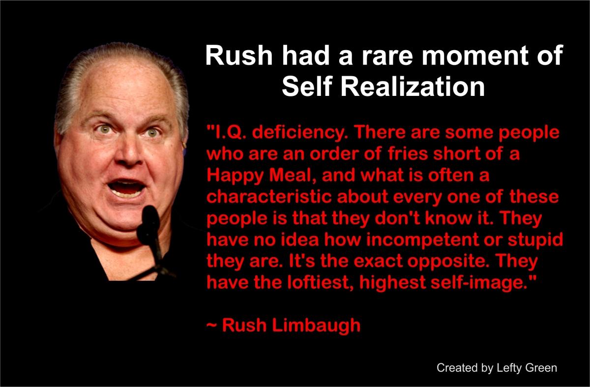 Rush Limbaugh-Projection